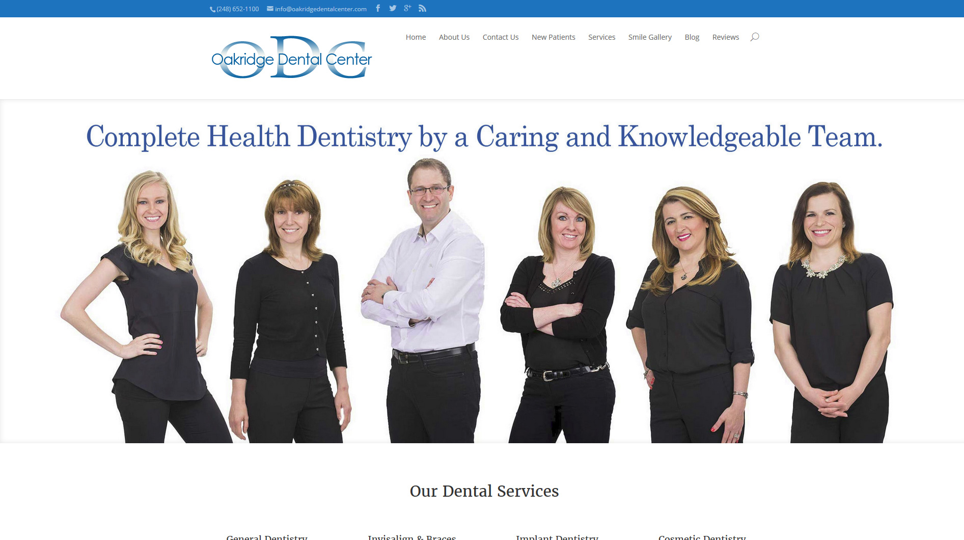 Oakridge Dental Center