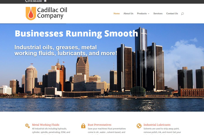 cadillac oil