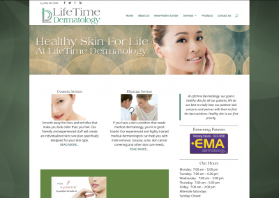 LifeTime Dermatology – Troy MI