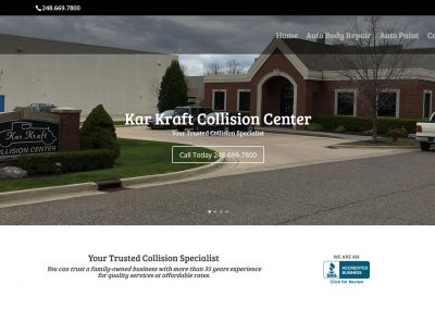 Kar Kraft Collision Center – Wixom MI