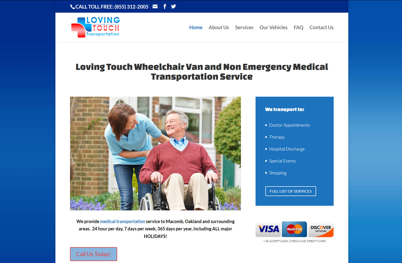 Loving Touch Transportation