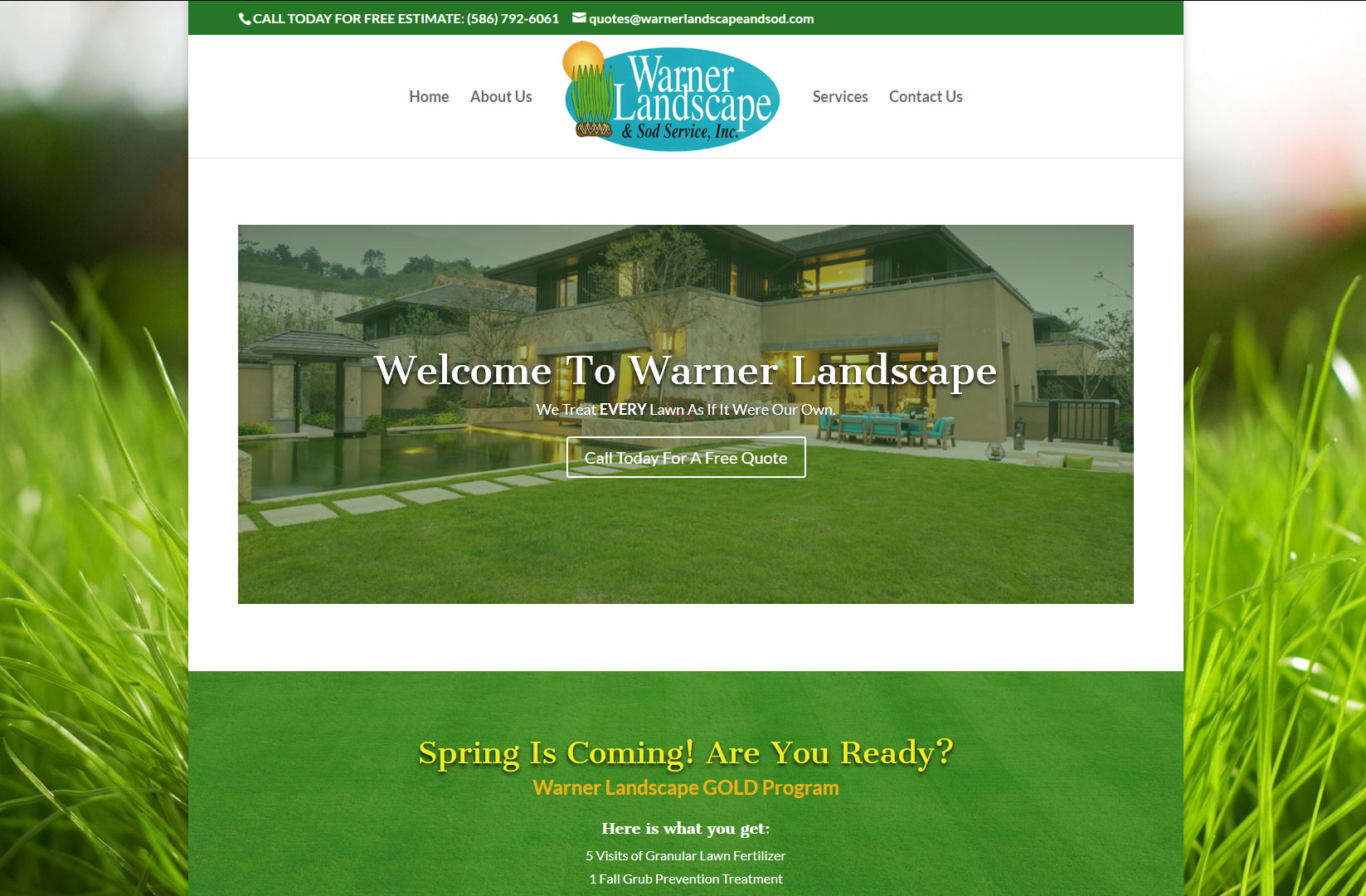 Warner Landscape and Sod – Clinton MI