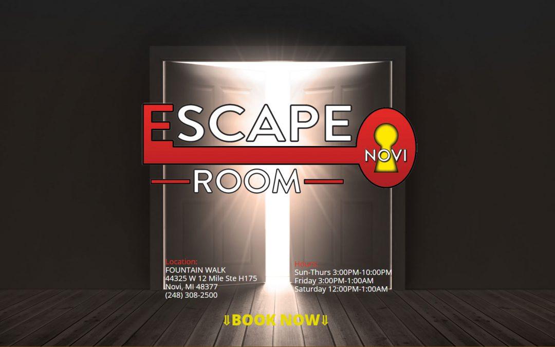 The Escape Room Novi