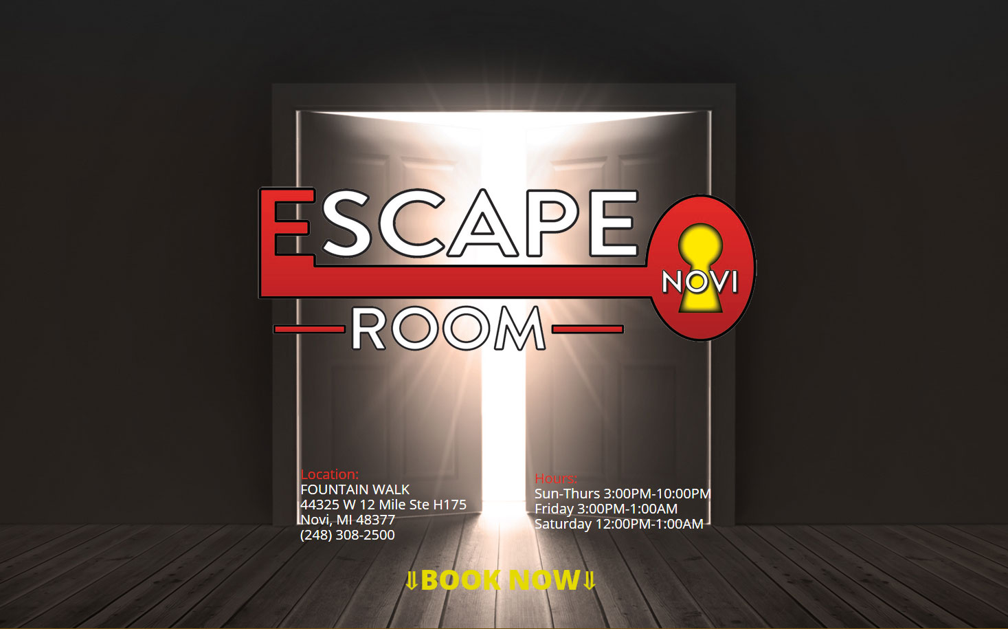ESCAPEROOMNOVI
