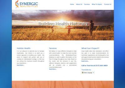 Synergic Healthstyles