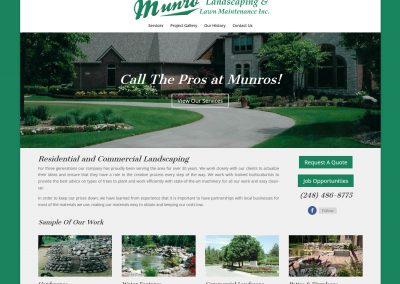 Munro Landscaping