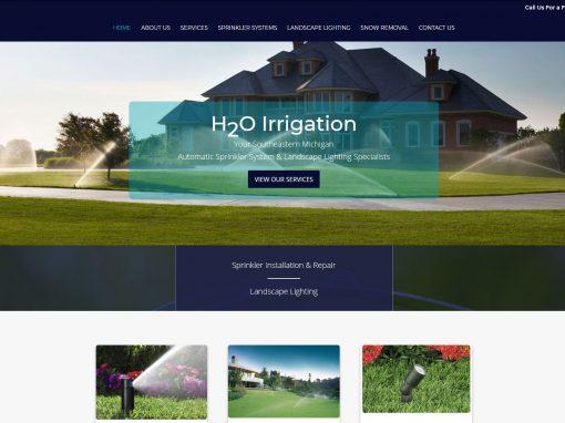 H2O Lawn Irrigation